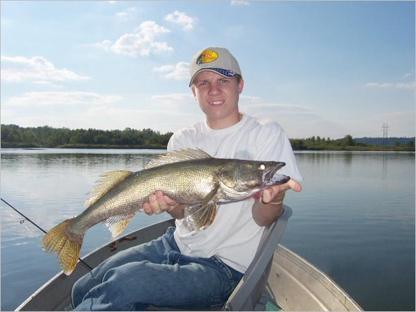 Walleye picture and more pictures for Central ohio fishing report